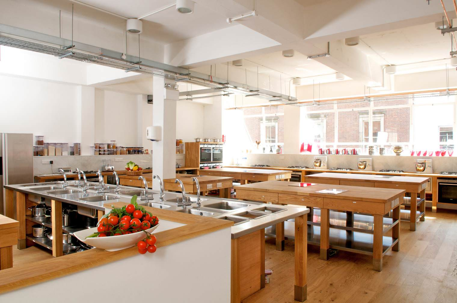 Cooks academy lawrence long architects - Kitchen design classes ...