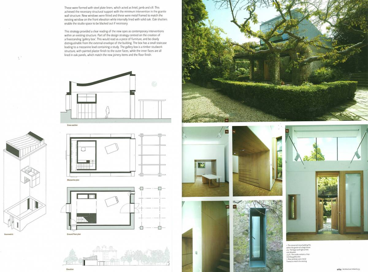 Lawrence & Long Architects | Publications